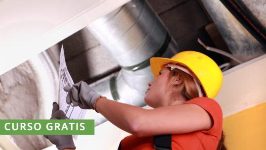 Curso gratis Montaje y mantenimiento de instalaciones de climatización y ventilación-extracción