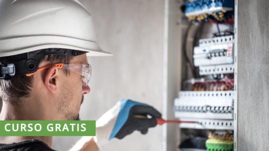 Curso gratis Operaciones auxiliares de montaje de redes eléctricas